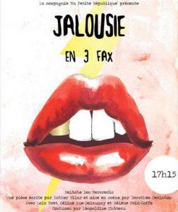 Jalousie en 3 fax