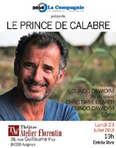 Le Prince de Calabre
