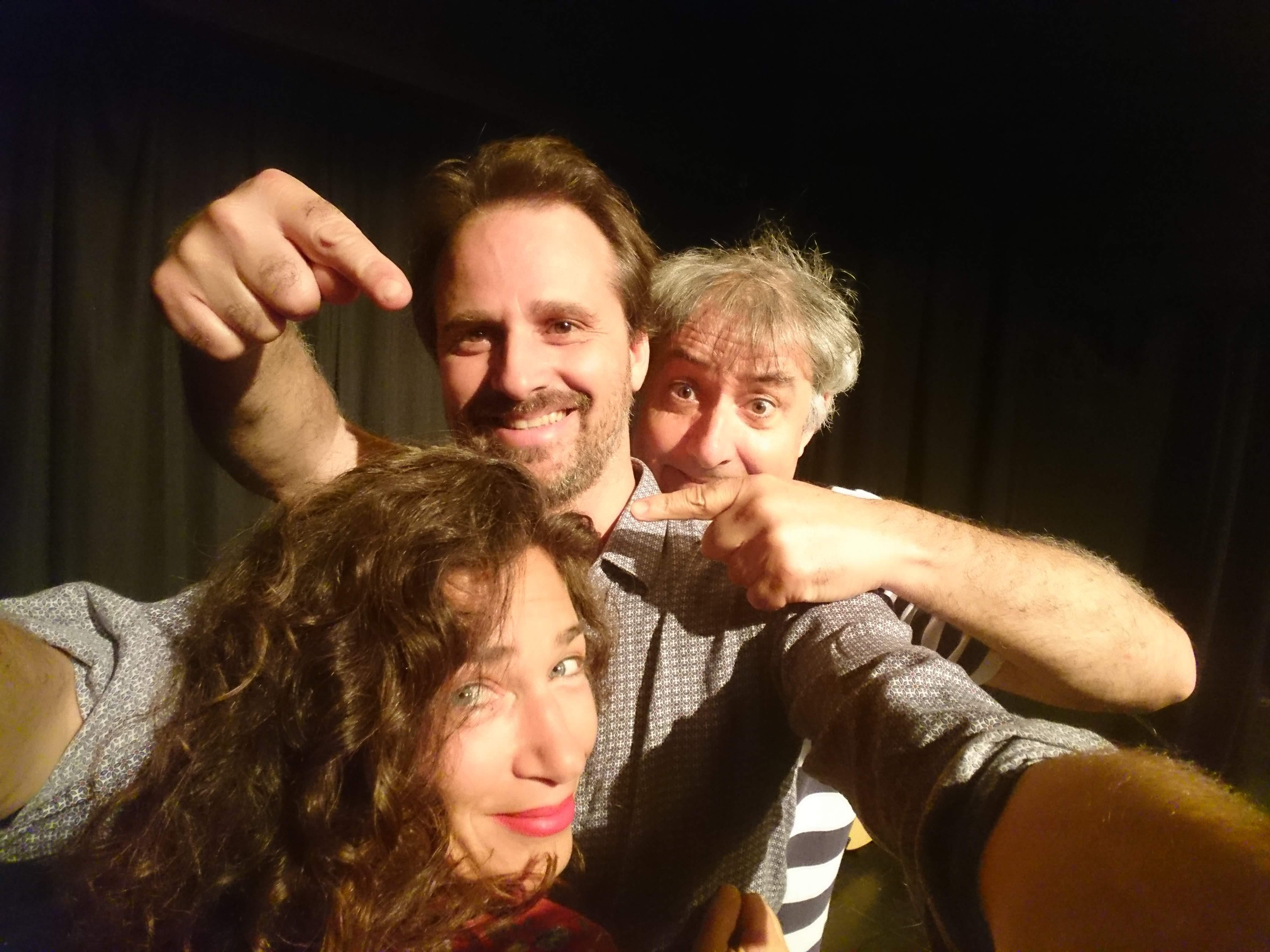 Sylvain et Doty plus Antho